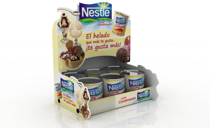 Exhibidor Nestle