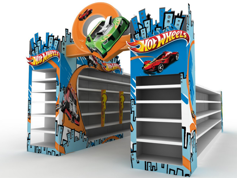 Decoración Hot Wheels